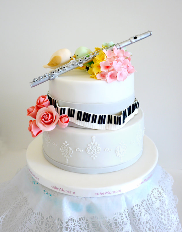musical wedding cake hk
